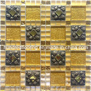 New Arrived Glass Mosaic Tile (HGM290) pictures & photos