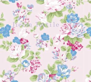 60GSM Floral Polyester Fabric
