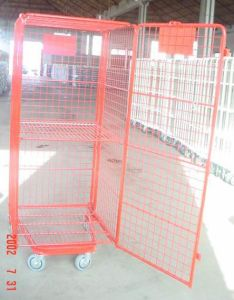 Top Quality Mesh U Type Roll Container pictures & photos