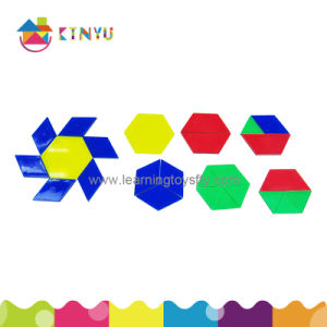 Educational Manipulative Toys Overhead Pattern Blocks/120 pictures & photos