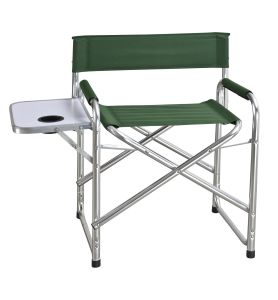 Folding Director Chair with Side Table (DS-7001)