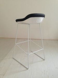 Black Leather Bar Stools pictures & photos
