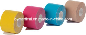 Cotton Elastic Kinesiology Physio Therapy Muscle Kinesio Tape pictures & photos