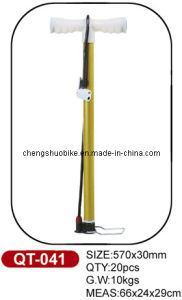 Easy to Use Bike Pump Qt-041 in Hot Selling pictures & photos
