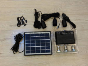 Portable 8W Mini Solar Lighting Kit (RHT-SS11)