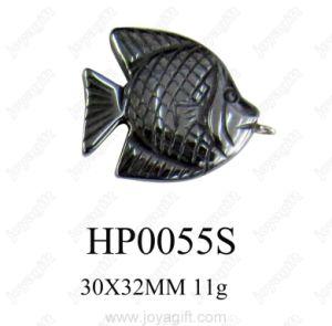 Hematite Fish Pendant (HP0055S)