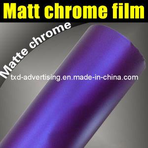 Hot Sale Matte Purple Chrome Film for Car Wrap