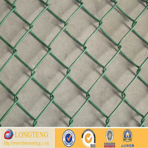 Cheap Price PVC Coated Chain Link Fence (lt-147)