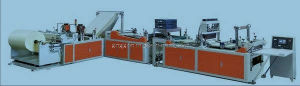High Speed Non Woven Bag Making Machine with Automatic Punching (WFB) pictures & photos