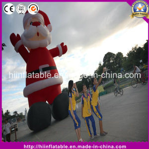 Cute Inflatable Santa for Christmas Decoration