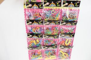 Fashion Jewelry Silicon Wristband Cheap Rainbow Loom Rubber Bands