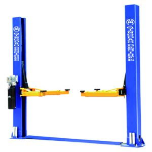 Two Post Floor Plate Hydraulic Car Lift <Dtpf609s > pictures & photos