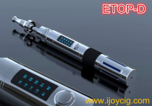 2014 Newest LCD Display Screen Mechanical Mod Ijoy Etop-D Electronic Cigarette