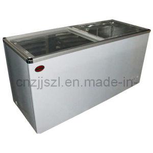Flat Glass Door Freezer (SDSC-468) pictures & photos
