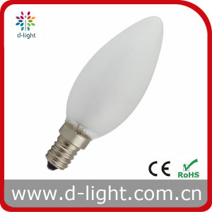 C35 Frosted E14 Incandescent Bulb Candle Bulb pictures & photos
