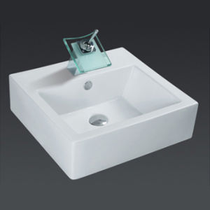 Unique Porcelain Bathroom Vessel Sink (6507) pictures & photos