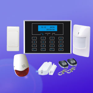 Home GSM Alarm System, GSM+Pstn Security System, Wireless Burglar Alarm System (BT-111GSM)