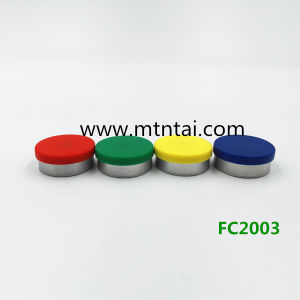 20mm Plain Surface Flip off Caps in Red Color 500PCS Per Batch pictures & photos