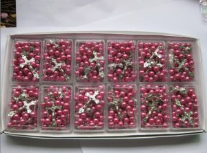 Thr-IR003(Plum Colour) Plum Colour Imitation Pearls pictures & photos