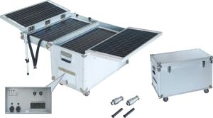 100W Portable Solar Power Supply Solar Panel Solar System