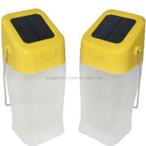 Solar Light with Kettle Shape Water Lantern
