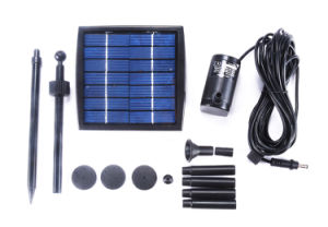 1.5W Solar Fountain Pump for Garden