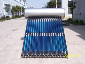 Pressure Solar Water Heater Use High Efficiency Heat Pipe pictures & photos