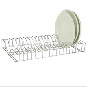 Stainless Steel Kitchen Tableware Metal Dish Plate Rack pictures & photos