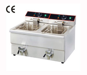 2-Tank Electric Fryer (YF-12L-2)