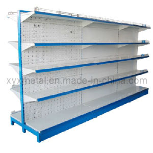 Low Price-Mesh Back Supermarket Gondola Shelving pictures & photos