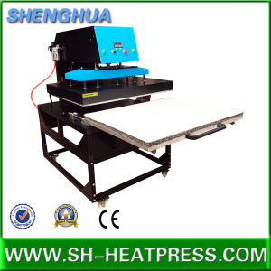 Pneumatic Single Station Heat Press Machine 80X100cm for Sublimation Transfer Printing pictures & photos