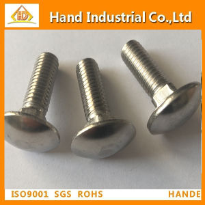 Stainless Steel 304 Fastener Square Neck Carriage Bolt pictures & photos