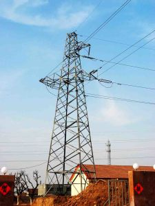 35kv Angle Steel Tower pictures & photos
