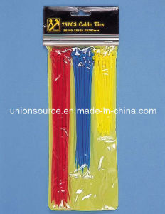 Colorful Paper Cable Ties/Plastic Tie pictures & photos