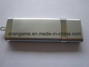 Metal Flash Disk with Custom Laser Logo (OM-M042) pictures & photos