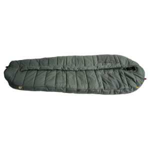Olive Green Large Size Single Adult Military Sleeping Bag pictures & photos