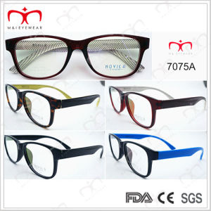 Tr90 Optical Frame for Unisex Fashionable and Hot Selling (7075A) pictures & photos