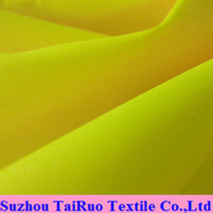 Polyester Oxford with Fluorescent Color for Fluorescent Cloth pictures & photos