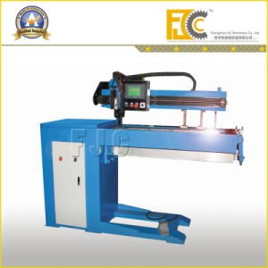 Semi-Automatic Straight Seam Welding Machine for Pipy Metalware pictures & photos