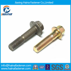 Jiaxing Haina DIN6921 Hex Flange Bolt (non-serrated) pictures & photos