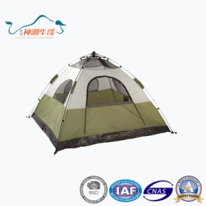 Double Layers Windproof Waterproof Automatic Camping Tents Outdoor pictures & photos
