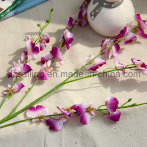 Cheap Dancing Orchid Artificial Flower for Wedding/Home Decoration (SW02612) pictures & photos