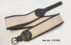 2017 Beige Weaving Linen Belt pictures & photos