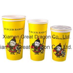1.5-32 Ounce Hot Beverage Paper Cups and Lids (PC11015) pictures & photos