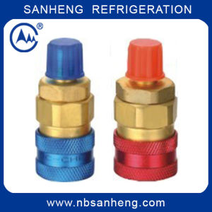 R134A Quick Coupler Refrigeration Brass Quick Coupling pictures & photos