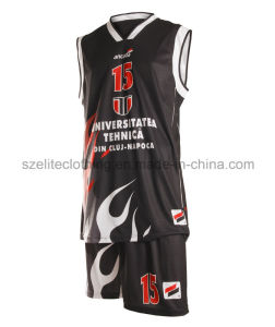 Custom Design Camouflage Basketball Uniform (ELTLJJ-102) pictures & photos