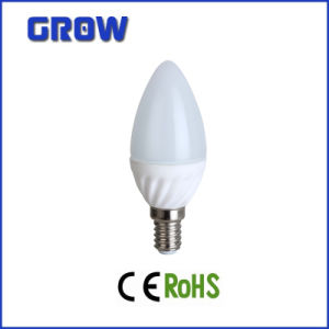 E14 2835SMD Aluminium Streak Candle LED Bulb/Lamp/Light Chinese Supplier pictures & photos