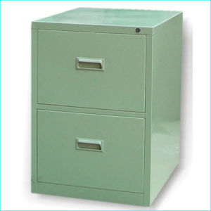 2 Drawers Steel Filing Cabinet pictures & photos
