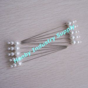 Extra Long 93mm Triple Shape Plastic Head Straight Pins for Christmas Decoration (P160801A) pictures & photos