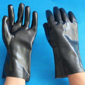 Anti-Slip Acid and Alkali PVC Working Industrial Safety Gloves pictures & photos